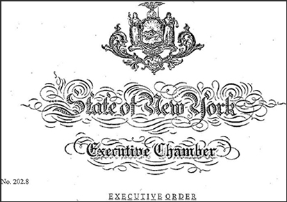 Image of State of New York Executive Chamber Seal