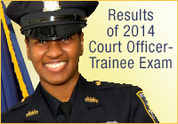 Results of 2014 Court Officer-Trainee Exam