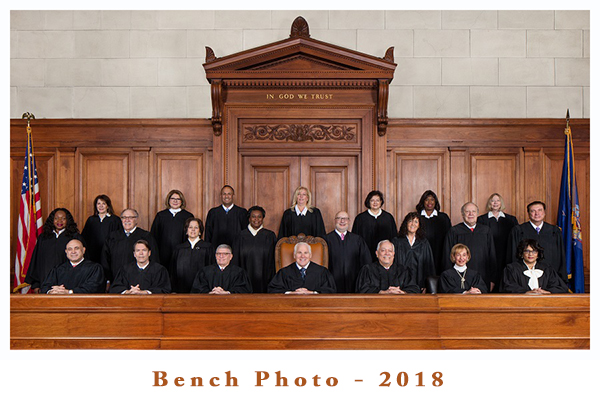 Justices of the Court 2018