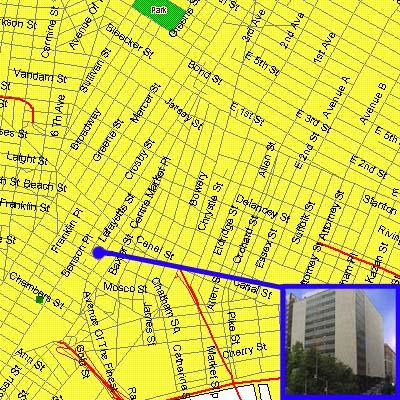 Jay Street Borough Hall Subway Map.New York City Civil Court