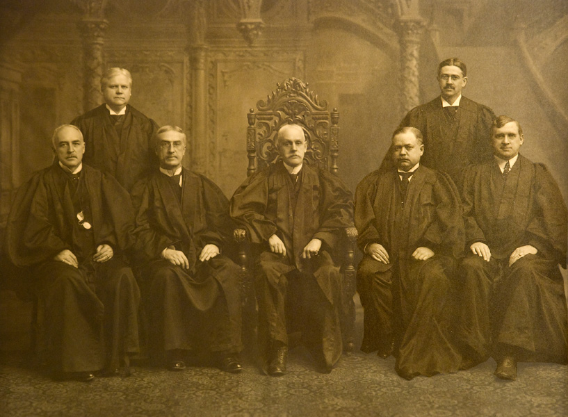history of the judicial depart of Similarity and the analogical method provide a foundation on which to build a critique of judicial  it requires strong justification to depart  ('history.