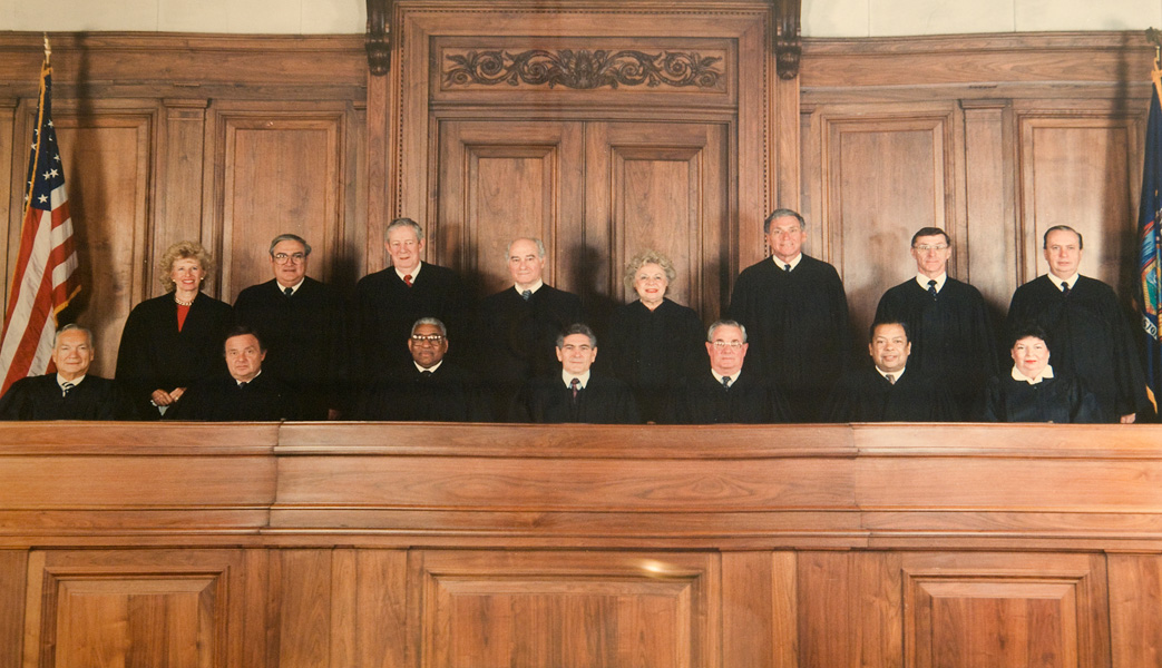 Bench Portraits Of The New York State Supreme Court