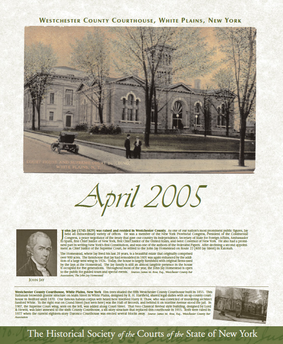 Calendar New York April : Historical society of the new york courts events