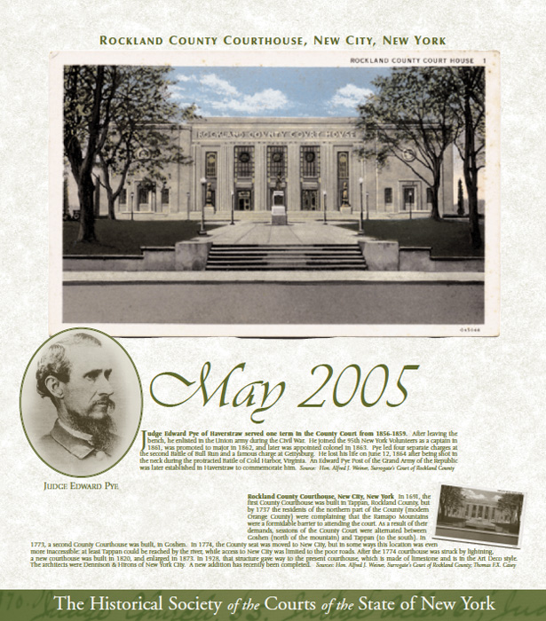 May Calendar New York : Historical society of the new york courts events